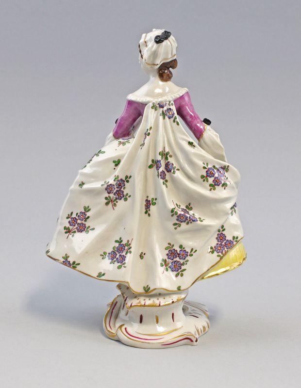 Älteste Volkstedt Porzellan Figur