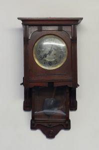 8320018 Regulator Wanduhr Jugendstil um 1900