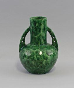 8345060 Keramik Henkel-Vase Jugendstil um 1905 Keerl&Schumann Arzberg
