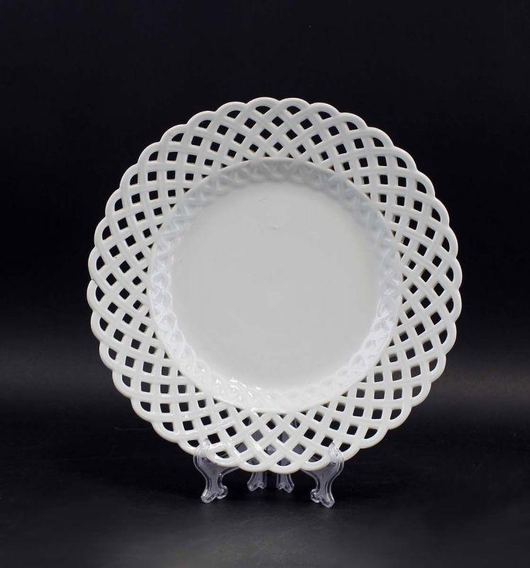 8340105 Porzellan Durchbruchteller Marcolini Meissen
