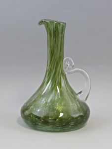 8335065 Glas Henkel-Vase Böhmen