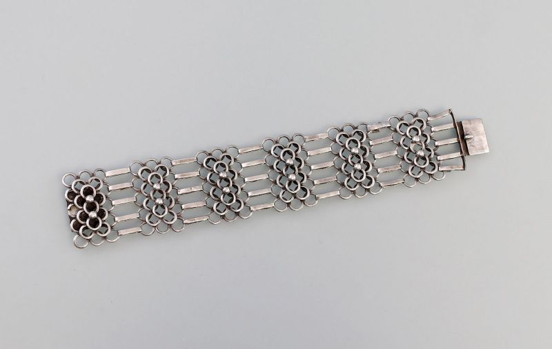 8325393 Breites Silber-Armband 830er Silber