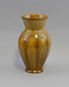 8345112 Keramik Vase Jugendstil Laufen Schweiz Laufglasur