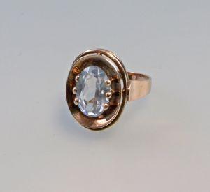8325320 Aquamarin-Ring 333er Gold Gr.54