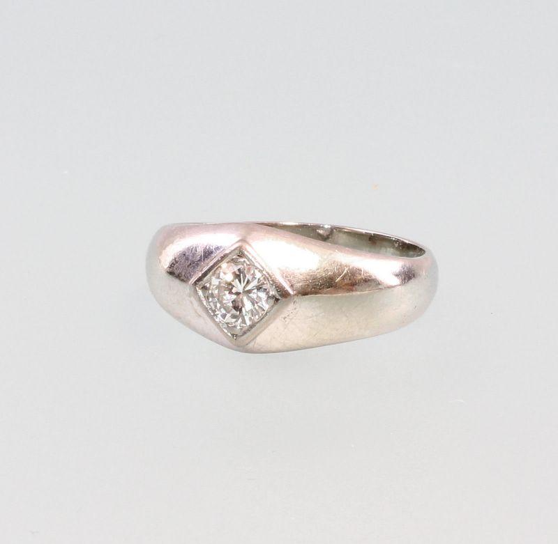 8325176 Brillant-Ring 750er WG Gold Gr. 58