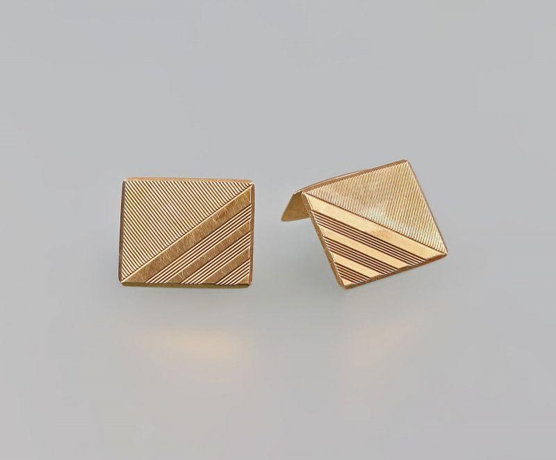 8325359 Manschettenknöpfe 585er Gold