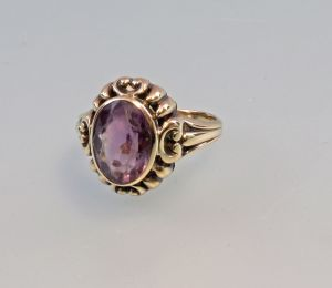 8325353 Amethyst-Ring 333er Gold Gr.50