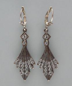 Ohrringe mit Swarovski-Steinen  9901129