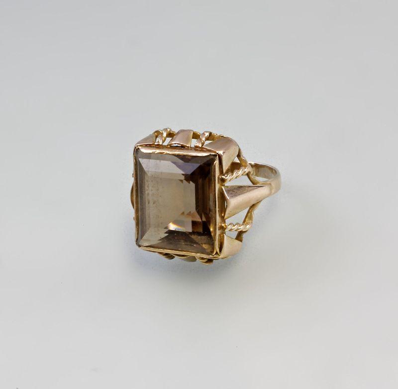 333er GG Rauchquarz-Ring 99825122