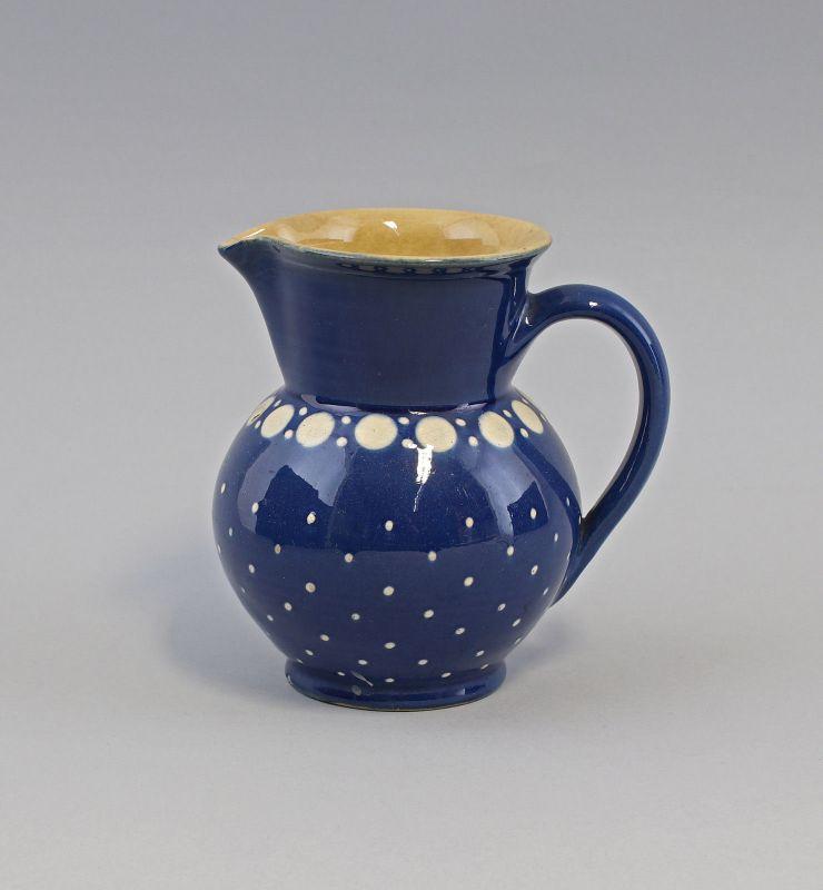 99845491 Keramik Schenkkrug Krug Kanne Gefäß Bürgel Thüringen H14cm