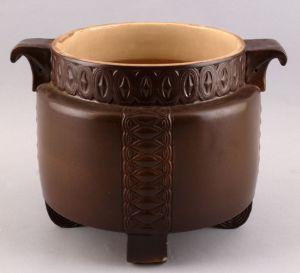 99845034 Keramik Cachepot Übertopf Jugendstil um 1910
