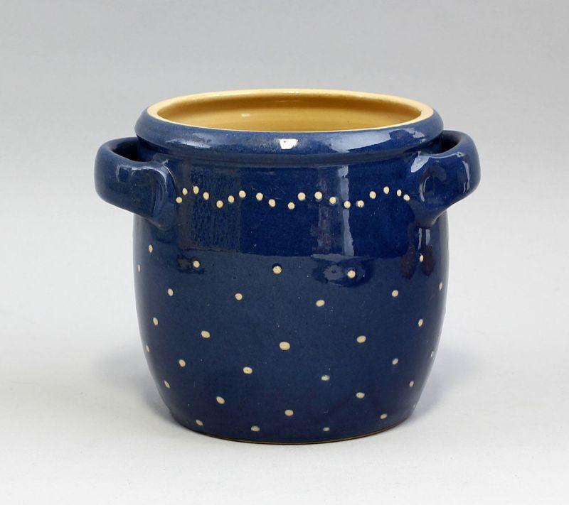 99845434 Keramik Henkel-Topf Bürgel Thüringen H12cm