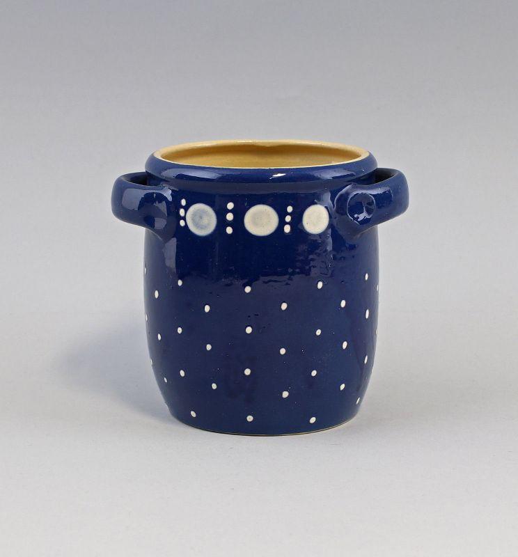 99845039 Keramik Henkeltopf Topf Bürgel Thüringen H 12,5 cm