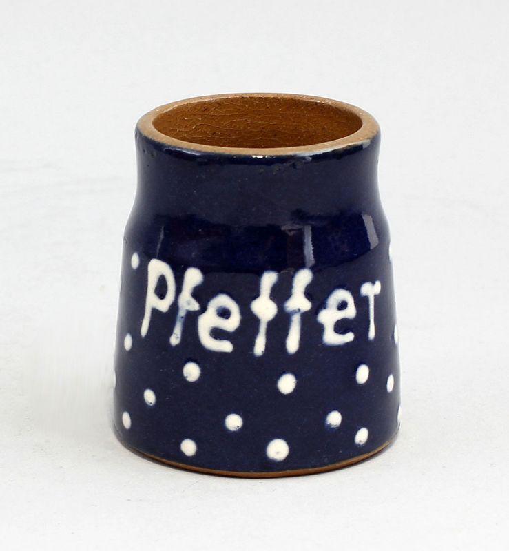 99845438 Keramik Peffer-Töpfchen Bürgel