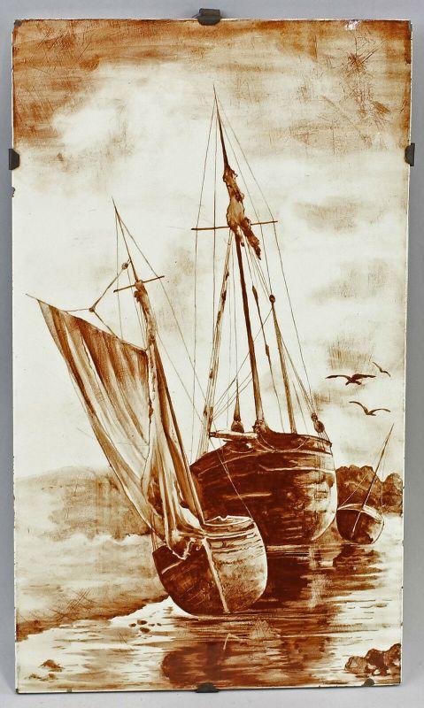 99845222 Keramik-Bildplatte Segelboot  Segelschiff 99845070