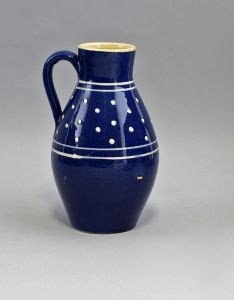 99845433 Keramik Schenk-Krug/Flasche/Vase Bürgel H17cm