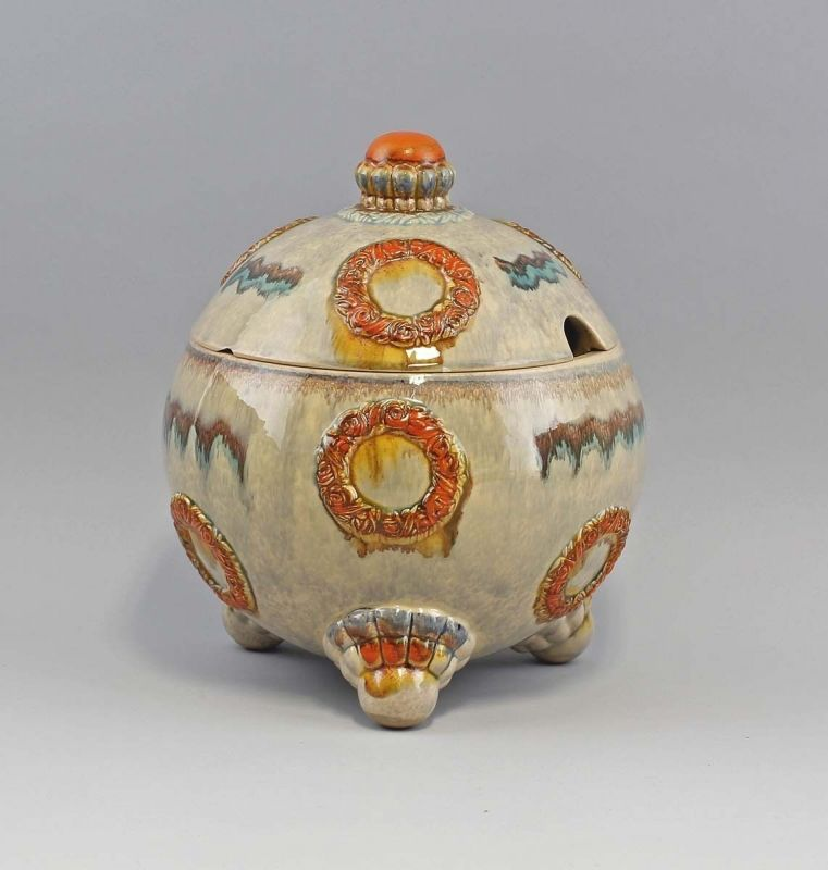 99845254 Keramik Bowle Art déco Westerwald