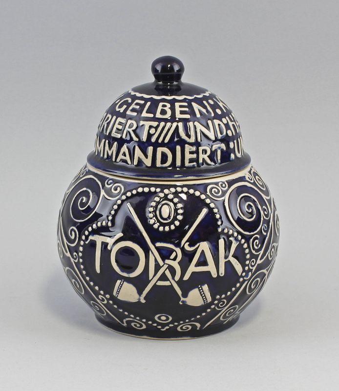 99845170 Keramik Tabaktopf Art déco Westerwald