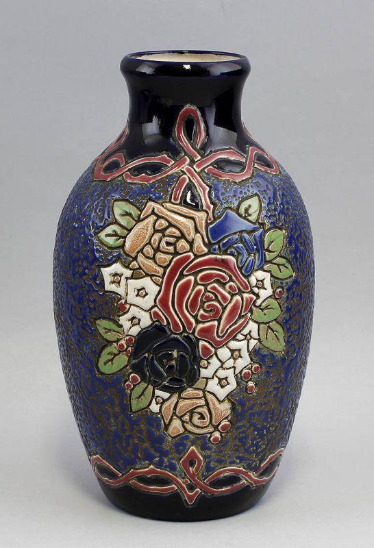99845035 Keramik  Vase Amphora Jugendstil