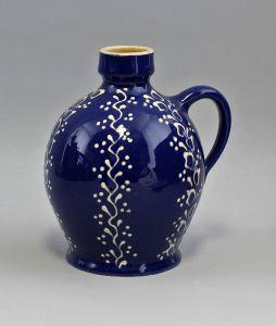 99845432 Keramik Schenk-Krug/Flasche Bürgel Thüringen H17cm