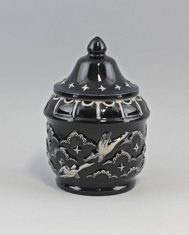 99845175 Keramik Tabaktopf Art déco Westerwald Eckardt&Engler