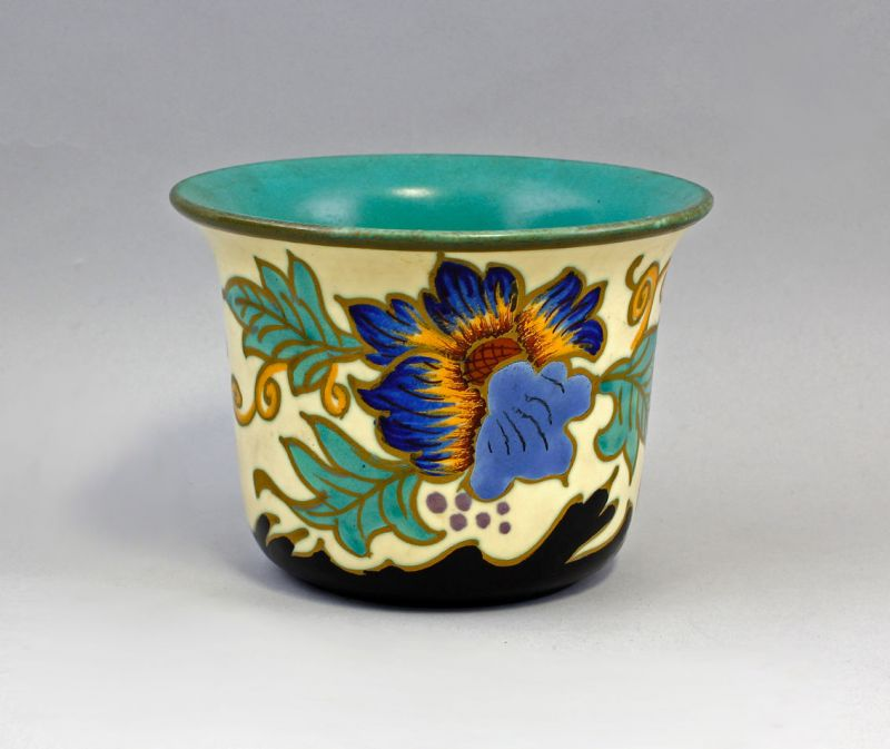 99845354 Keramik Blumentopf  Royal Gouda Valencia