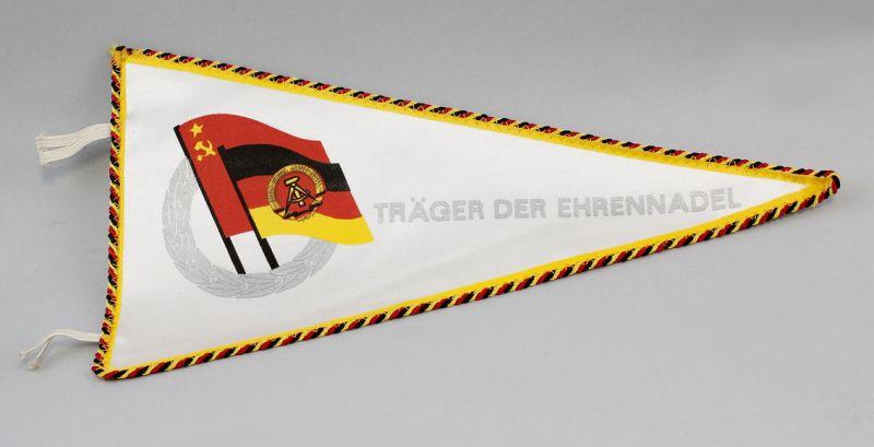 DDR Wimpel Träger der Ehrennadel Silber Deutsch-Sowjetische Freundschaft 9990122