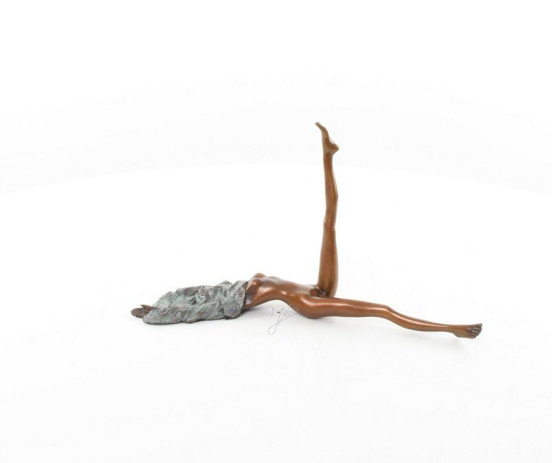 9973484-dss Bronze Skulptur Figur Nackte Erotik 17x9x31cm