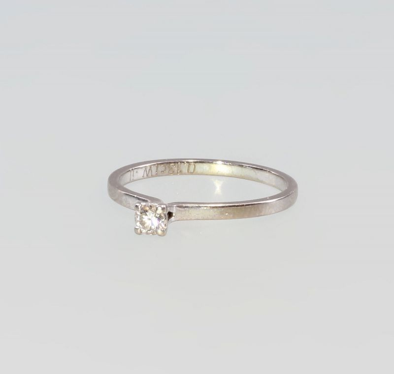 8325179 Brillant-Ring 750er WG Gold Gr. 53