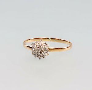 8325178 Brillant-Ring 750er GG/WG Gold Gr. 59/60