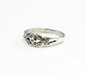 9901044 925er Silber Ring mit Swarovski-Steinen Gr. 53/54