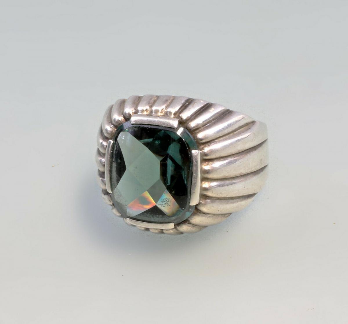 99825541 Spinell-Herren-Ring 835er Silber Gr.67