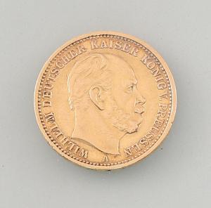 8408005 Goldmünze 20 Mark Deutsches Reich Preussen 1872