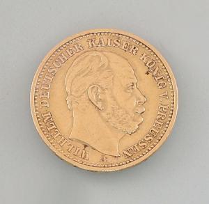 8408003 Goldmünze 20 Mark Deutsches Reich Preussen 1888
