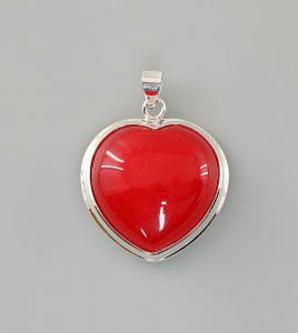 9907360 925er Silber Anhänger Karneol Herz