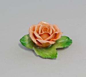 Tischblume Rose Porzellan Thüringen Ernst Bohne 99840301
