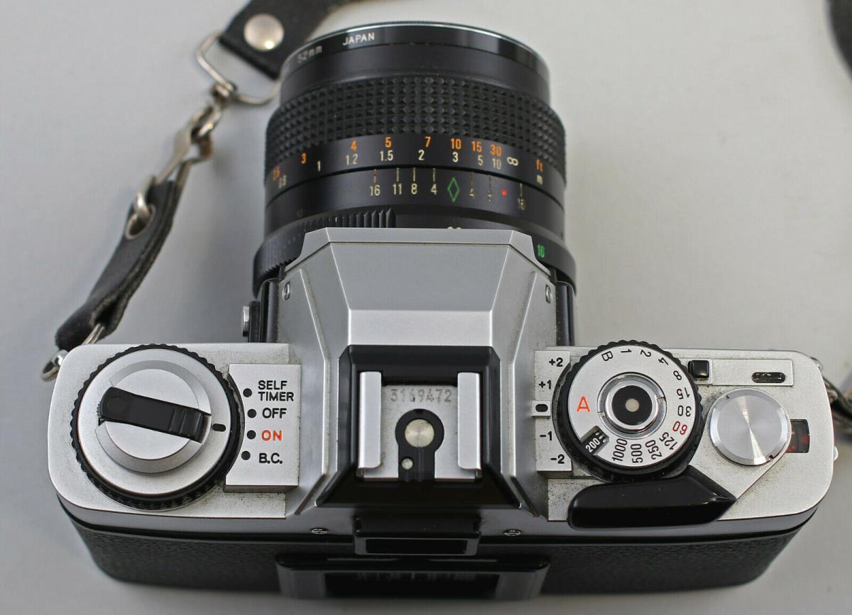 8470006 Spiegelreflexkamera Minolta XG-1 mit Zubehör 3 Objektive Tokina Foto 1