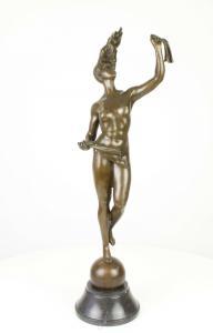 99937951-dss Bronze Skulptur Fortuna Göttin des Schicksals Figur erotisch neu
