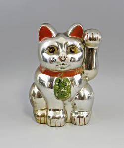 99839053 Sparbüchse Maneki-Neko Katze Japan Keramik Winkekatze