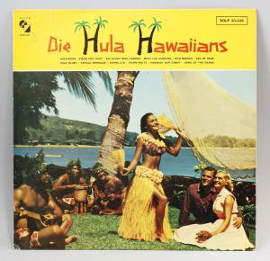 Vinyl LP Die Hula Hawaiians Debüt-Album 1962 Folk World Hawaii 9980484