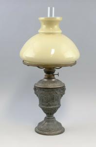 8468004 Petroleum-Lampe Historismus um 1900 Kosmos Brenner