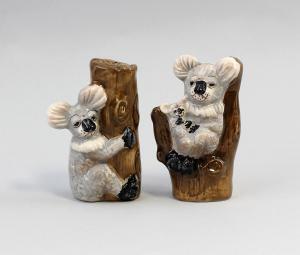 9952055 Design-Salz/Pfeffer-Streuer Keramik Koala Jameson&Tailor H10,5cm