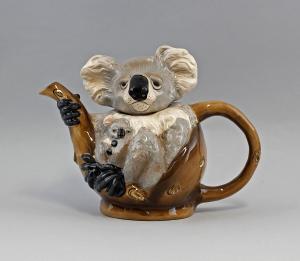 9952054 Design-Kanne Keramik Koala Jameson&Tailor H21,5cm
