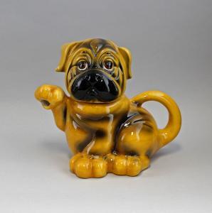 9952088 Keramik  Design Teekanne Hund