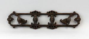 9937181 Eisen Garderobe Haken Hakenleiste rustikal L37cm