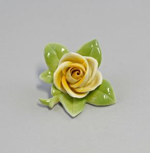 Tischblume Rose  Porzellan Thüringen Kämmer 99840349