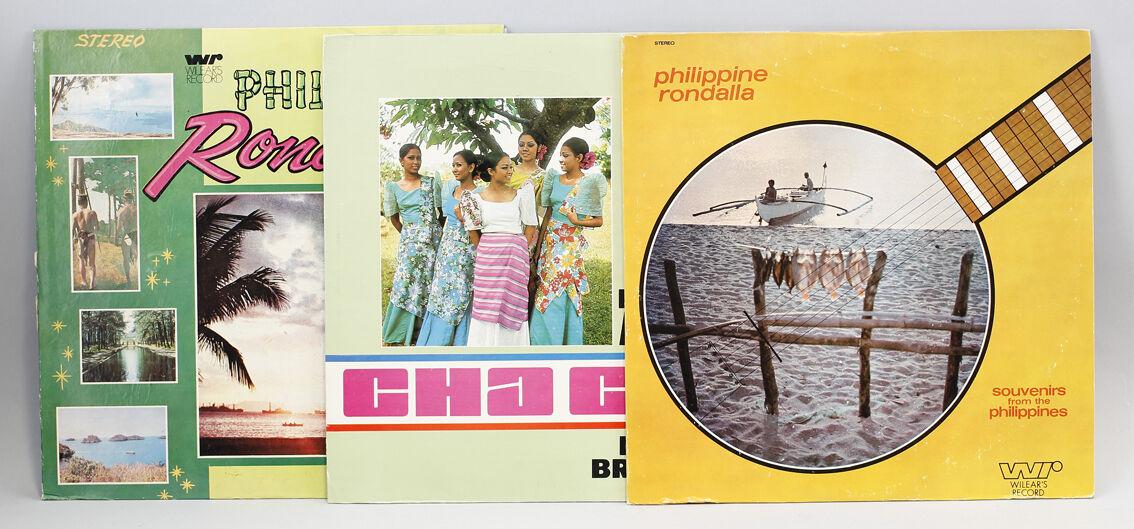 9980468 3x Vinyl LP Philippine Music Rondalla Wilear's Rec. Folk World Library 0