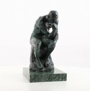 9973472-dss große Bronze Skulptur Figur