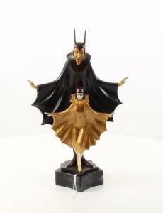 9937014-dss Bronze Skulptur Art deco
