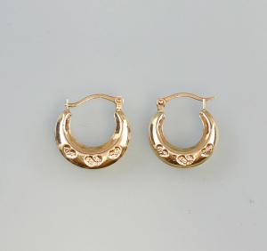 99825487 375er GG Gold Ohrringe Goldcreolen Creolen